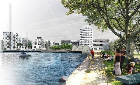 Limhamns silos får nytt liv som bostadshus.