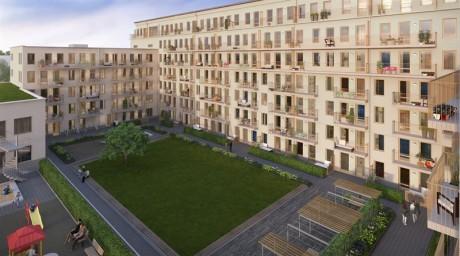 Skanska bygger bostäder åt HSB i Solna